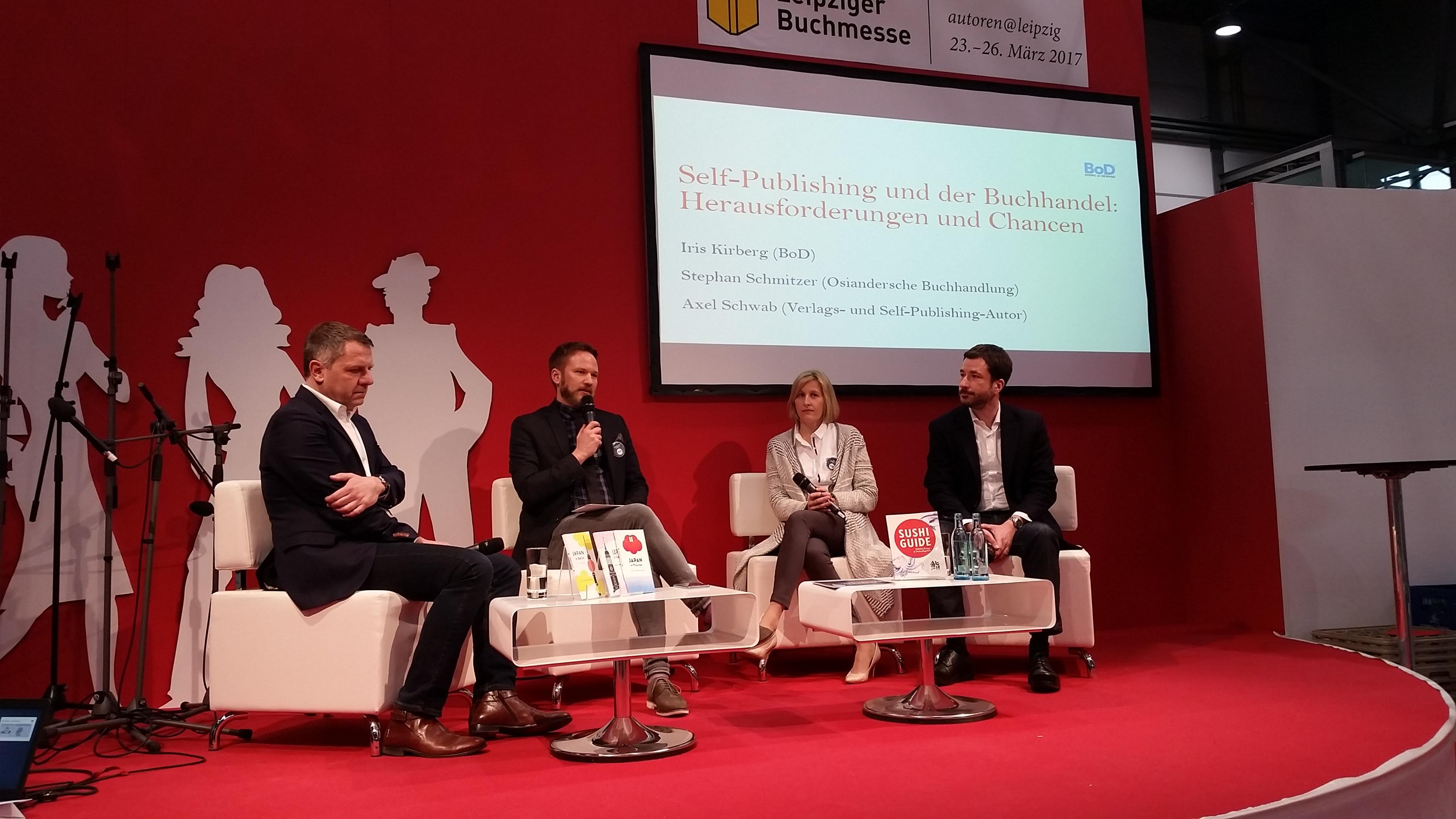 Autoren auf der Leipziger Buchmesse – Der PAGEturner